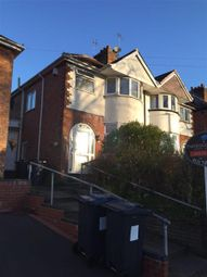 Thumbnail 3 bed semi-detached house to rent in Watwood Road, Shirley / Hall Green, Birmingham