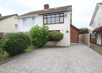 Thumbnail 2 bed semi-detached house for sale in Sandown Road, Benfleet