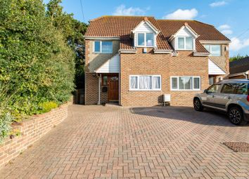 Thumbnail 5 bed semi-detached house for sale in Singlewell Road, Gravesend