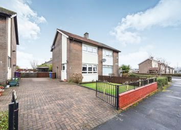 Thumbnail 2 bed semi-detached house for sale in Hillswick Crescent, Glasgow