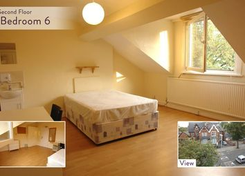 Thumbnail 6 bed shared accommodation to rent in Westcotes Drive, Leicester