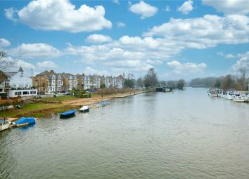 Thumbnail 2 bed flat to rent in The Old Boat House, River Bank, East Molesey, Surrey
