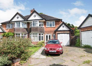 3 bed semi-detached house for sale in Birdwell Croft, Kings Heath, Birmingham B13