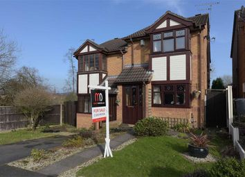 Thumbnail 2 bed semi-detached house for sale in Foxfoot Drive, Brockmoor, Brierley Hill
