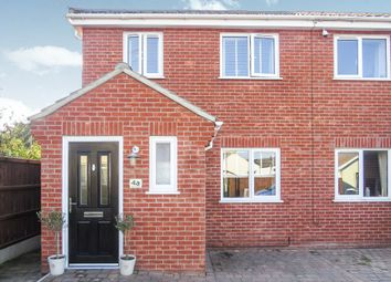 Thumbnail 3 bed semi-detached house for sale in Flora Road, Lowestoft
