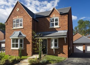 Thumbnail 4 bedroom detached house for sale in The Willington, Penmere Park, Oakwood Park, Penley, Wrexham