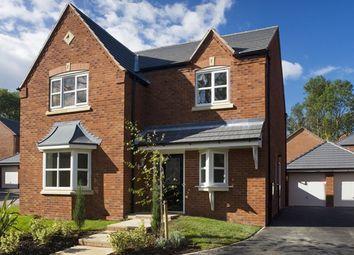 Thumbnail 4 bedroom detached house for sale in The Willington, Penmere Park, Oakwood Park, Penley, Wrexham