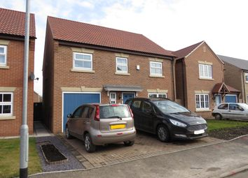 Thumbnail 4 bed detached house to rent in Hamilton Way, Coningsby, Lincoln