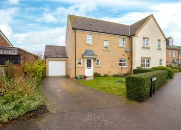 Thumbnail 3 bed semi-detached house for sale in Headlands, Fenstanton, Huntingdon