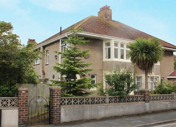 Thumbnail 3 bed semi-detached house for sale in Berkeley Crescent, Uphill, Weston-Super-Mare, Somerset