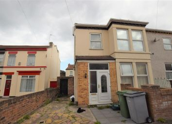 Thumbnail 3 bed semi-detached house for sale in Milton Road East, Tranmere, Birkenhead