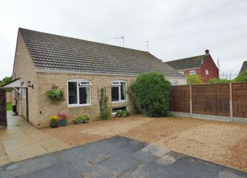 Thumbnail 2 bed semi-detached bungalow for sale in Croft Close, Starston, Harleston