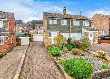 Thumbnail 3 bed semi-detached house for sale in Hunger Hills Drive, Horsforth, Leeds