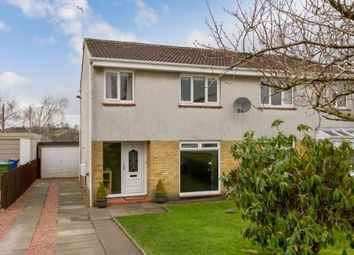 Thumbnail 3 bed semi-detached house for sale in Glenwood Gardens, Lenzie, Glasgow