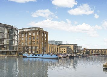 Thumbnail 1 bed houseboat for sale in Ice Wharf Marina, New Wharf Road, London