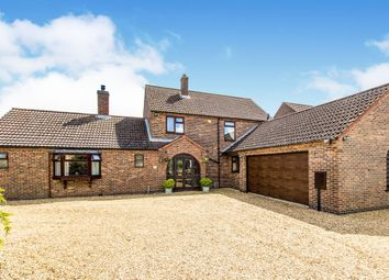 Thumbnail 5 bedroom link-detached house for sale in High Street, Carlby, Stamford