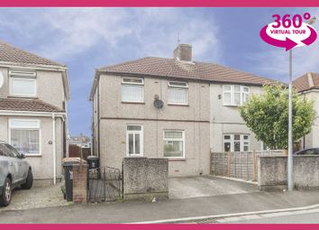Thumbnail 3 bed semi-detached house for sale in Greenmeadow Avenue, Newport