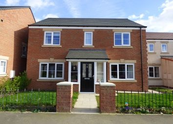Thumbnail 4 bed detached house to rent in Sandringham Way, Newfield, Chester Le Street