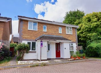 Thumbnail 2 bed semi-detached house for sale in The Cornfields, Basingstoke