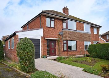 Thumbnail 3 bed semi-detached house for sale in Highfields Crescent, Dronfield, Derbyshire