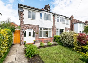 Thumbnail 3 bed semi-detached house for sale in Waverley Avenue, Appleton, Warrington, Cheshire