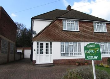 Thumbnail 3 bed semi-detached house for sale in Mountford Drive, Four Oaks, Sutton Coldfield