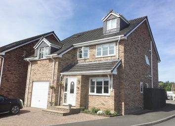 Thumbnail 5 bed detached house for sale in Hendre Gardens, Pencoed, Bridgend .