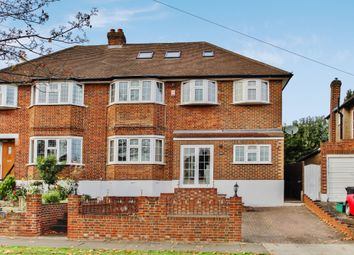 Thumbnail 5 bed semi-detached house for sale in Raeburn Avenue, Surbiton, Surrey