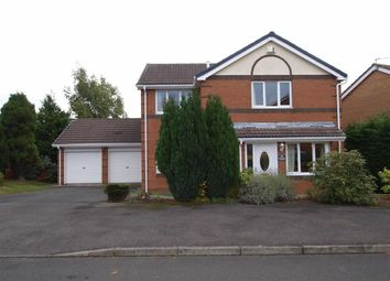 Thumbnail 4 bed detached house for sale in Cheadle Avenue, Cramlington
