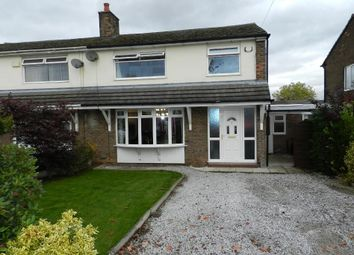 Thumbnail 3 bed semi-detached house for sale in Bentham Road, Culcheth, Warrington