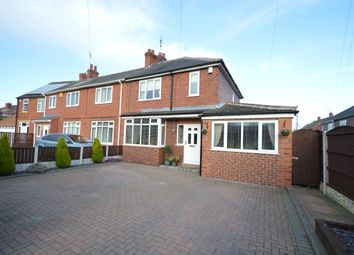 Thumbnail 3 bed semi-detached house for sale in Aketon Road, Cutsyke, Castleford