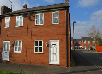 Thumbnail 2 bedroom semi-detached house for sale in Old Main Road, Fleet Hargate, Spalding