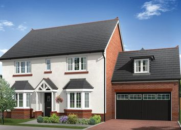 "Thumbnail 5 bed detached house for sale in ""Mellor"" at Chester Lane, Saighton, Chester"