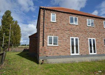 Thumbnail 3 bed semi-detached house for sale in Kings Causeway, Swinefleet, Goole
