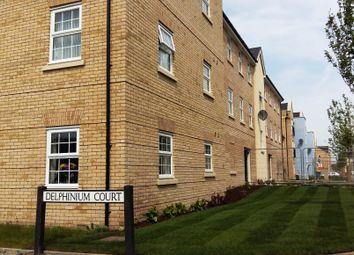 Thumbnail 2 bedroom flat to rent in Delphinium Court, Eynesbury, St. Neots