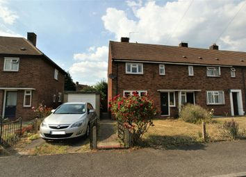 Thumbnail 2 bed end terrace house for sale in Cowley Crescent, Hersham, Walton-On-Thames, Surrey