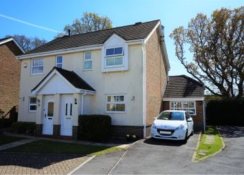 Thumbnail 3 bed semi-detached house for sale in Hadrian Way, Wimborne