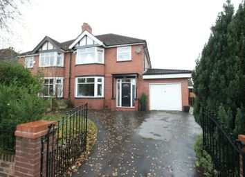 Thumbnail 4 bed semi-detached house for sale in Winstanley Road, Sale