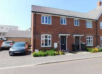 Thumbnail 3 bed end terrace house for sale in Sassoon Crescent, Stowmarket