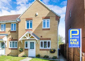 Thumbnail 3 bed semi-detached house for sale in Sandford Close, Wingate