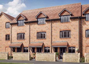 Thumbnail 3 bed town house for sale in London Road, Corby, Northamptonshire