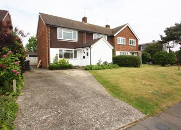 Thumbnail 4 bed semi-detached house to rent in Boltons Lane, Pyrford