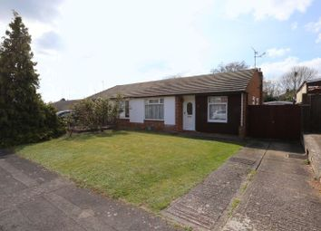Thumbnail 2 bed semi-detached bungalow for sale in Keswick Gardens, Woodley, Reading