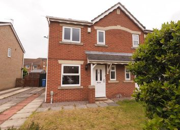 Thumbnail 3 bed semi-detached house to rent in Bridgegate Drive, Victoria Drive, Hull