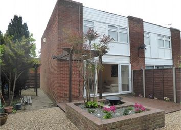 Thumbnail 3 bed end terrace house to rent in Brierley Close, London
