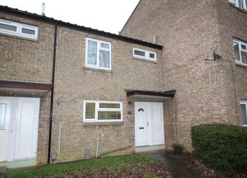 Thumbnail 3 bed terraced house for sale in Clipston Walk, Ravensthorpe, Peterborough