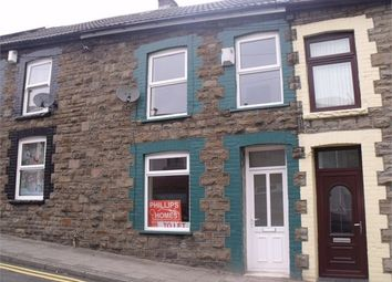 Thumbnail 2 bed terraced house for sale in Court Street, Tonypandy, Rhondda Cynon Taff.