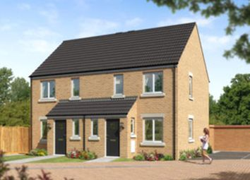 "Thumbnail 2 bed terraced house for sale in ""Roseberry"" at Coulson Street, Spennymoor"