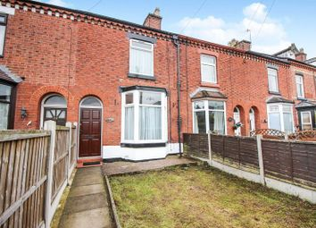Thumbnail 3 bed terraced house for sale in Cromwell Terrace, Leek, Staffordshire