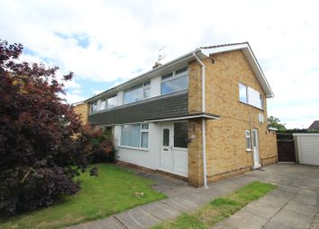 Thumbnail 3 bed semi-detached house to rent in Curlew Glebe, Dunnington, York